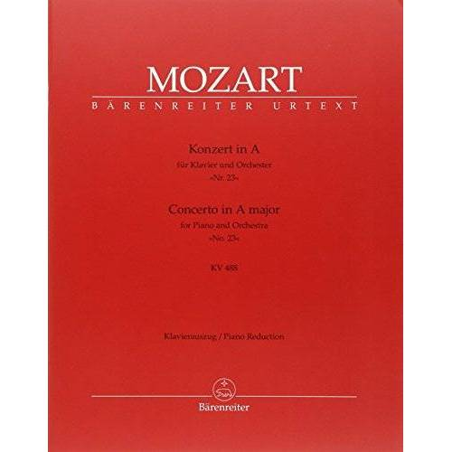 - Konzert 23 a-Dur KV 488 - Klav Orch. Klavier, Klavier zu 4 Händen - Preis vom 20.10.2020 04:55:35 h