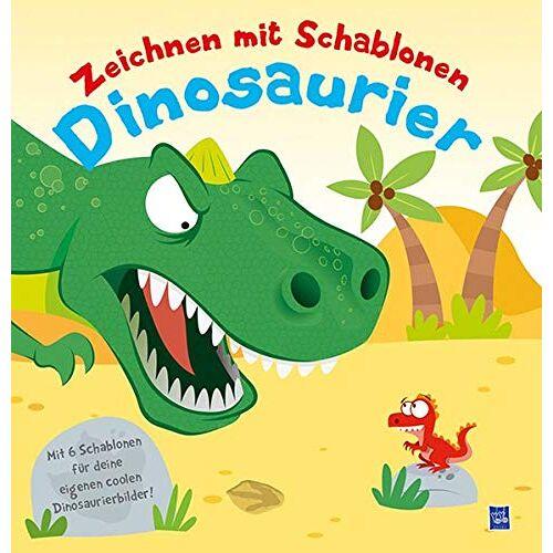 - Zeichnen mit Schablonen - Dinosaurier: Mit sechs Schablonen für deine eigenen Bilder - Preis vom 14.04.2021 04:53:30 h