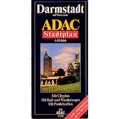 - ADAC Stadtpläne, Darmstadt mit Weiterstadt - Preis vom 21.10.2020 04:49:09 h