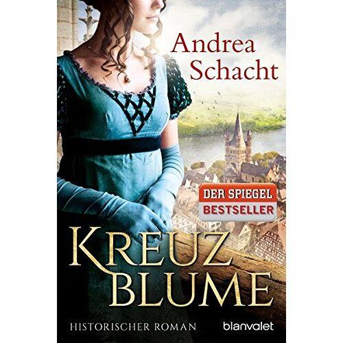Andrea Schacht - Kreuzblume: Historischer Roman - Preis vom 20.10.2020 04:55:35 h