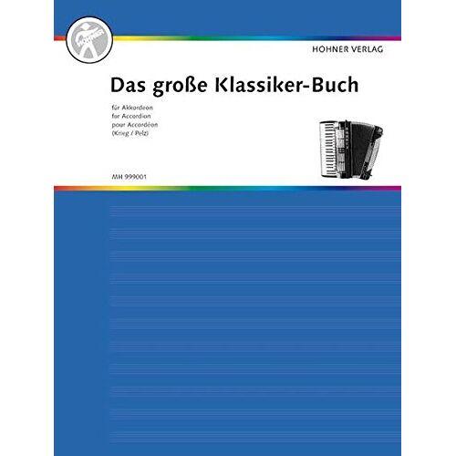 Franz Krieg - Das große Klassiker-Buch für Akkordeon: Akkordeon. (Das große Akkordeonbuch) - Preis vom 29.05.2020 05:02:42 h
