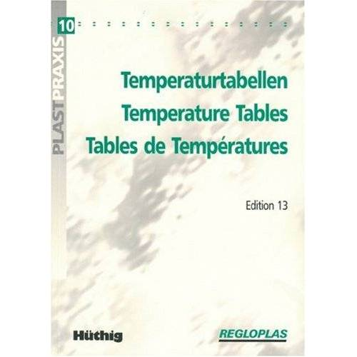- Temperaturtabellen - Temperature Tables - Tables de Températures - Preis vom 28.02.2021 06:03:40 h