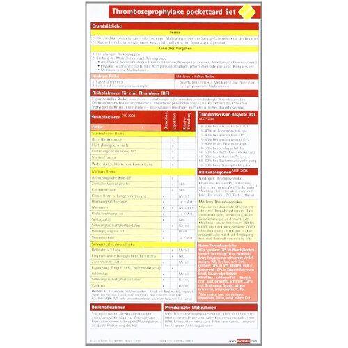 - Thrombose Prophylaxe pocketcard (2er Set) - Preis vom 29.11.2020 05:58:26 h