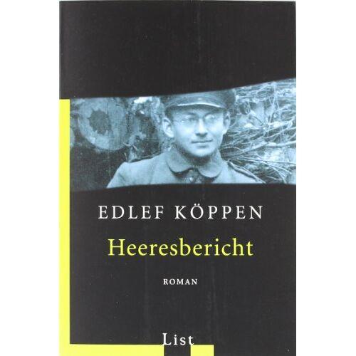 Edlef Köppen - Heeresbericht - Preis vom 27.02.2021 06:04:24 h