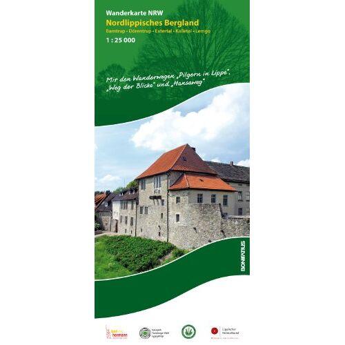 Lippischer Heimatbund e.V. - Wanderkarte NRW: Nordlippisches Bergland: Barntrup - Dörentrup - Extertal - Kalletal - Lemgo - Preis vom 28.02.2021 06:03:40 h
