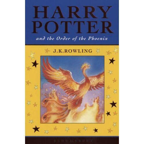 Rowling, Joanne K. - Harry Potter 5 and the Order of the Phoenix. Celebratory Edition (Harry Potter Celebratory Edtn) - Preis vom 28.02.2021 06:03:40 h