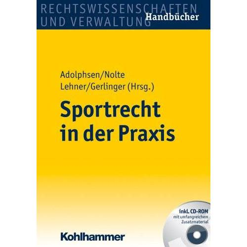 Jens Adolphsen - Sportrecht in der Praxis - Preis vom 13.05.2021 04:51:36 h