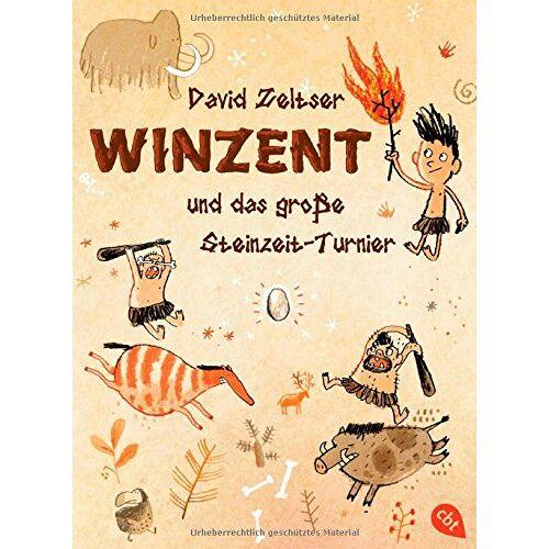 David Zeltser - Winzent und das große Steinzeit-Turnier: Band 1 - Preis vom 11.05.2021 04:49:30 h