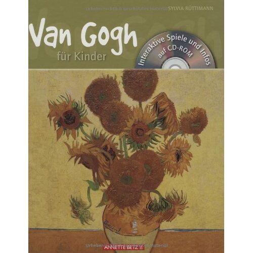 Sylvia Rüttimann - Van Gogh für Kinder mit CD-ROM: Interaktive Spiele und Infos - Preis vom 20.10.2020 04:55:35 h