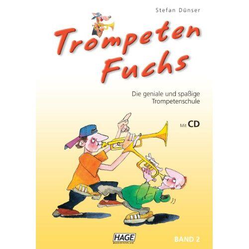 Stefan Dünser - Trompeten Fuchs, Band 2 - Trompetenschule mit CD: Die geniale und spaßige Trompetenschule - Preis vom 17.04.2021 04:51:59 h