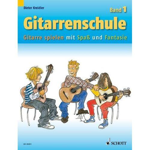 Dieter Kreidler - Gitarrenschule: Gitarre spielen mit Spaß und Fantasie - Neufassung. Band 1. Gitarre. - Preis vom 25.02.2020 06:03:23 h