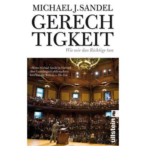 Sandel, Michael J. - Gerechtigkeit: Wie wir das Richtige tun - Preis vom 03.05.2021 04:57:00 h