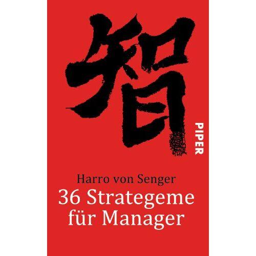 Senger, Harro von - 36 Strategeme für Manager - Preis vom 20.04.2021 04:49:58 h