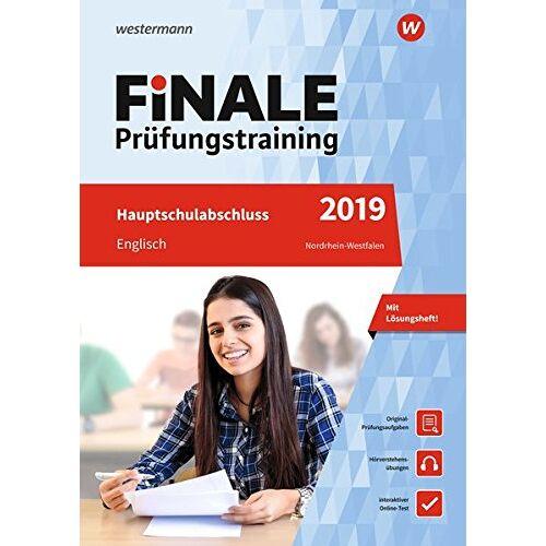 Anna Grimm - FiNALE Prüfungstraining Hauptschulabschluss Nordrhein-Westfalen: Englisch 2019 Arbeitsbuch mit Lösungsheft und Audio-CD - Preis vom 10.05.2021 04:48:42 h