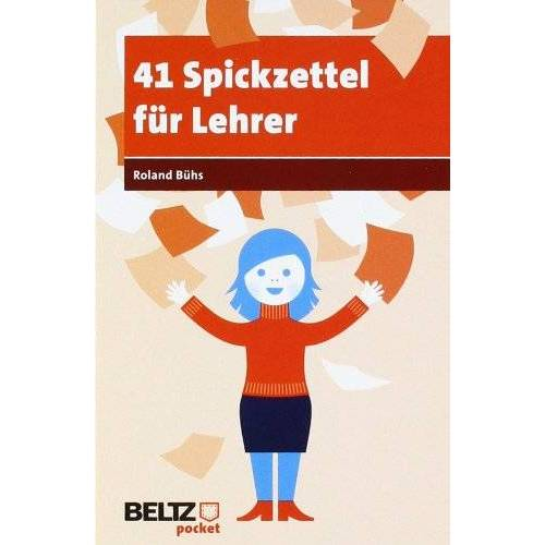 Roland 41 Spickzettel für Lehrer (Beltz Pocket) - Preis vom 18.04.2021 04:52:10 h