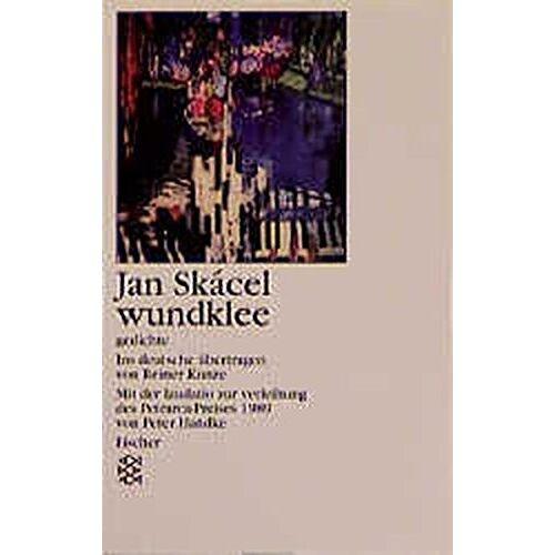 Jan Skacel - Wundklee: Gedichte (Fischer Taschenbücher) - Preis vom 05.09.2020 04:49:05 h