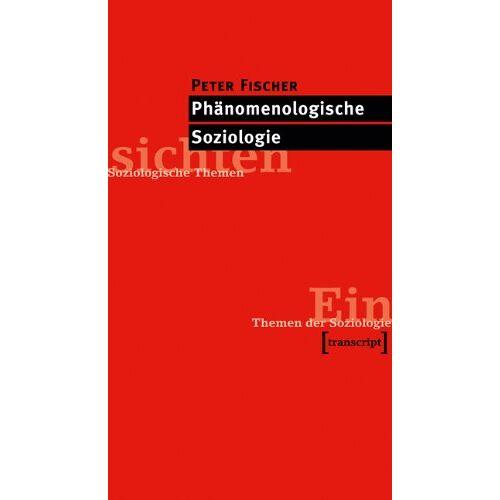 Peter Fischer - Phänomenologische Soziologie - Preis vom 20.10.2020 04:55:35 h