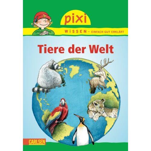 Jürgen Beckhoff - Pixi Wissen, Band 42: Tiere der Welt - Preis vom 20.10.2020 04:55:35 h