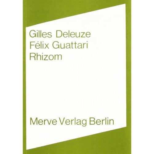 Gilles Deleuze - Rhizom - Preis vom 03.09.2020 04:54:11 h