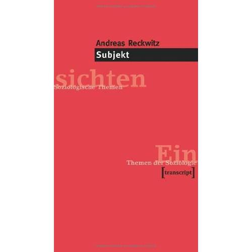 Andreas Reckwitz - Subjekt - Preis vom 06.05.2021 04:54:26 h