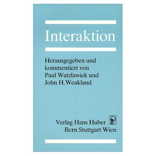 Paul Watzlawick - Interaktion - Preis vom 27.10.2020 05:58:10 h