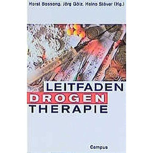 Horst Bossong - Leitfaden Drogentherapie - Preis vom 27.10.2020 05:58:10 h