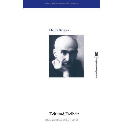 Henri Bergson - Zeit und Freiheit - Preis vom 20.11.2019 05:58:49 h
