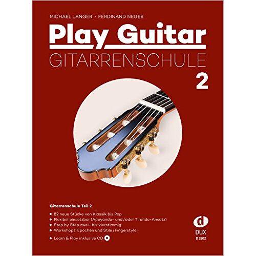 Michael Langer - Play Guitar 2 Gitarrenschule inkl. CD - Preis vom 25.02.2020 06:03:23 h