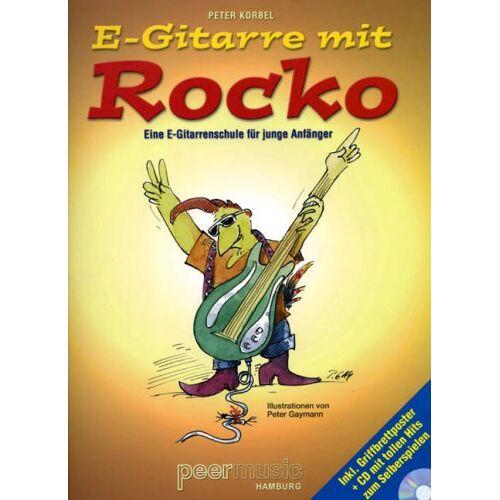 Peter Korbel - E-Gitarre mit Rocko. E-Gitarre - eine E-Gitarrenschule für junge Anfänger / Noten - Preis vom 21.10.2020 04:49:09 h