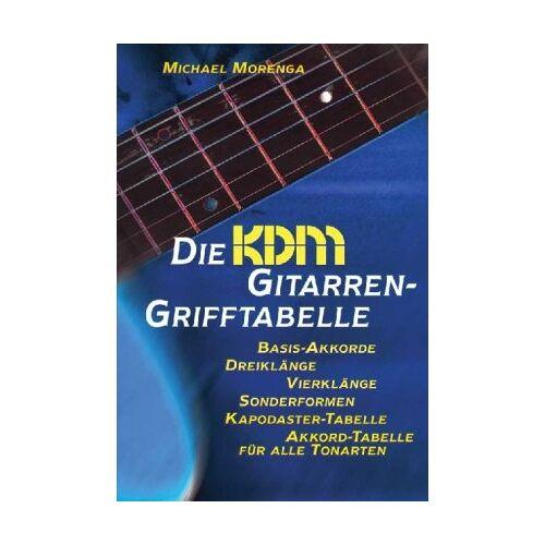 Michael Morenga - Die KDM Gitarren-Grifftabelle - Preis vom 11.05.2021 04:49:30 h