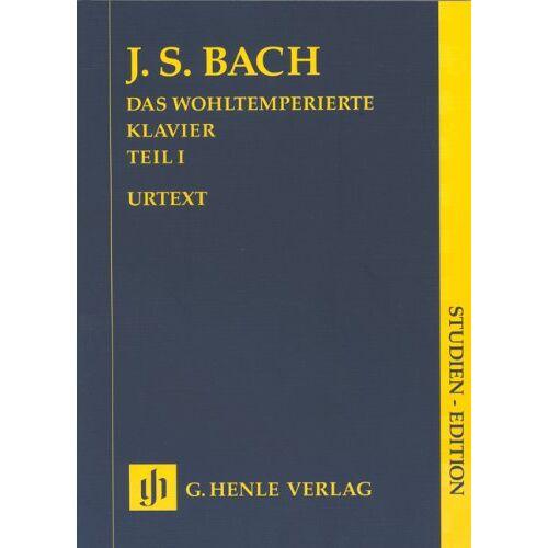 Bach, Johann Sebastian - Das Wohltemperierte Klavier 1 ohne Fingersätze; Studien-Edition - Preis vom 20.10.2020 04:55:35 h