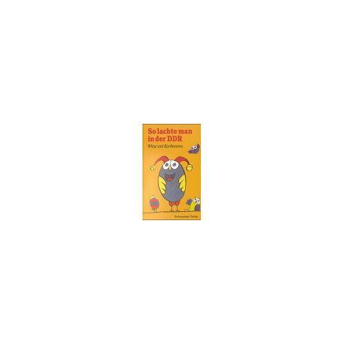 - So lachte man in der DDR: Witze und Karikaturen - Preis vom 21.10.2020 04:49:09 h