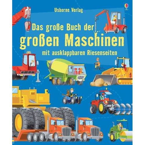 Minna Lacey - Das große Buch der große Maschinen - Preis vom 14.01.2021 05:56:14 h