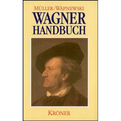Richard Wagner - Wagner-Handbuch - Preis vom 09.05.2021 04:52:39 h