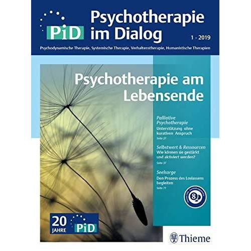 Maria Borcsa - Psychotherapie im Dialog - Psychotherapie am Lebensende - Preis vom 23.10.2020 04:53:05 h
