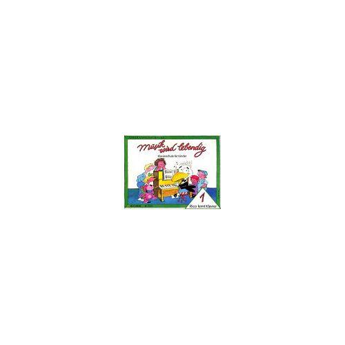 - Musik wird lebendig - Rico Lernt Klavier 1 - Klavierschule für Kinder - Preis vom 17.04.2021 04:51:59 h