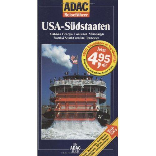 Heike Wagner - ADAC Reiseführer, USA-Südstaaten - Preis vom 21.10.2020 04:49:09 h