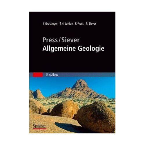 John Grotzinger - Press/Siever - Allgemeine Geologie (Sav Geowissenschaften) - Preis vom 21.10.2020 04:49:09 h
