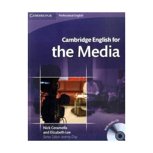 Jeremy Day - Cambridge English for the Media: Student's Book + Audio-CD - Preis vom 22.11.2020 06:01:07 h