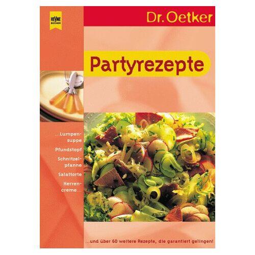 Oetker - Partyrezepte - Preis vom 04.09.2020 04:54:27 h