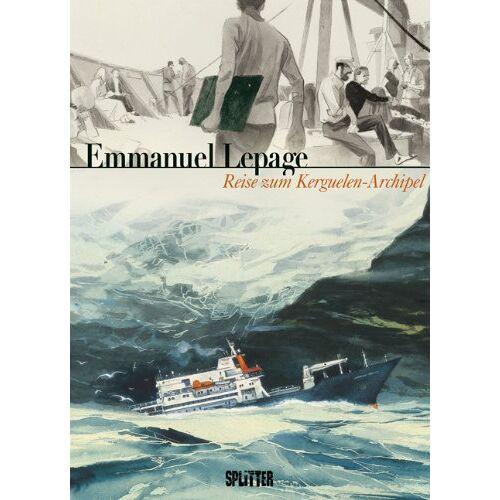 Emmanuel Lepage - Reise zum Kerguelen-Archipel - Preis vom 21.01.2021 06:07:38 h