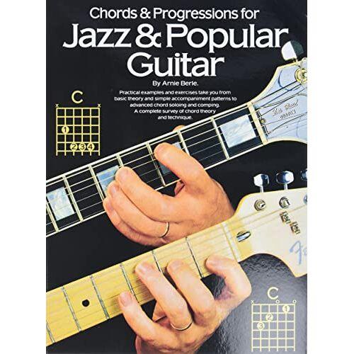 - Chords & Progressions For Jazz & Popular Guitar (Album): Songbook für Gitarre (Guitar Books) - Preis vom 26.02.2021 06:01:53 h