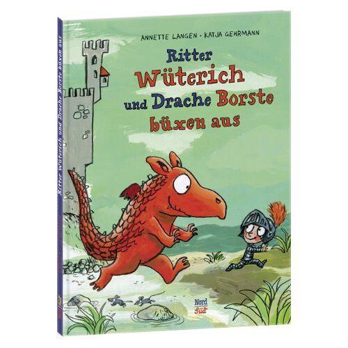 Annette Langen - Ritter Wüterich und Drache Borste büxen aus - Preis vom 07.03.2021 06:00:26 h