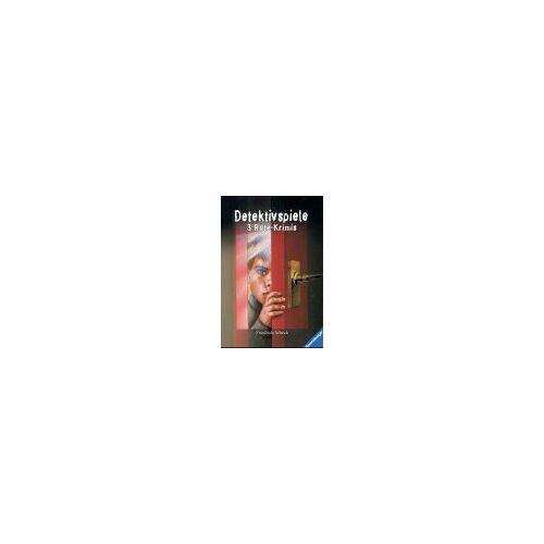 Friedrich Scheck - Detektivspiele: 3 Rate-Krimis - Preis vom 15.04.2021 04:51:42 h