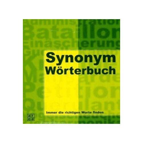 - Synonym-Wörterbuch. Über 150.000 Synonyme - immer die richtigen Worte finden - Preis vom 20.10.2020 04:55:35 h