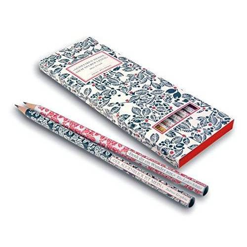 Insel Verlag - Insel Bücherei Bleistift-Set. 6 Bleistifte mit Zitaten - Preis vom 23.01.2020 06:02:57 h