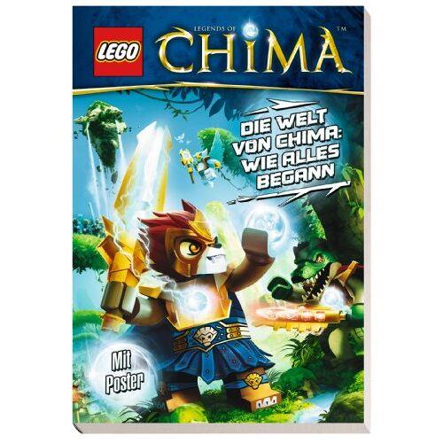 Lego Legends of Chima: Die Welt von Chima: Wie alles begann - Preis vom 11.05.2021 04:49:30 h