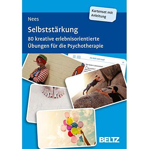 Frauke Nees - Selbststärkung: 80 kreative erlebnisorientierte Übungen für die Psychotherapie. Mit 20-seitigem Booklet. Kartenformat 9,8 x 14,3 cm in stabiler Box (Beltz Therapiekarten) - Preis vom 01.11.2020 05:55:11 h