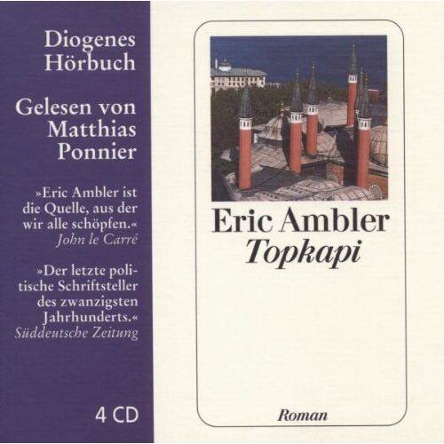 Eric Ambler - Topkapi - Preis vom 20.10.2020 04:55:35 h