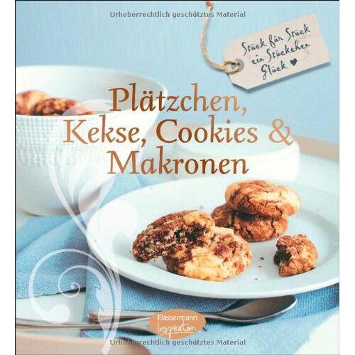 - Plätzchen, Kekse, Cookies und Makronen: Stück für Stück ein Stückchen Glück (Feines Teegebäck) - Preis vom 03.05.2021 04:57:00 h